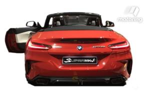 新型BMW・Z4リア