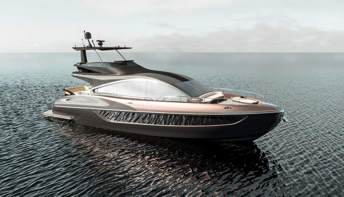 レクサスのボート(ヨット)LY650