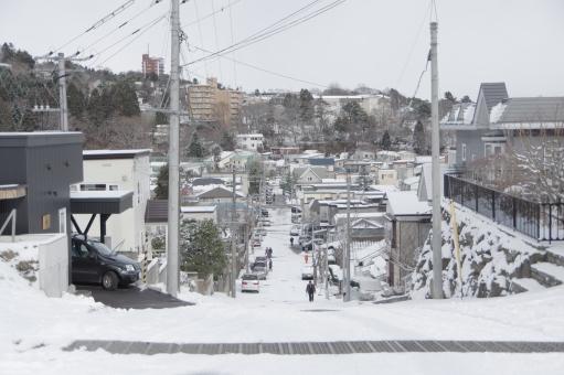 雪道運転・坂道(下り坂と上り坂)
