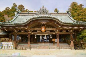 ドライブデート筑波山神社