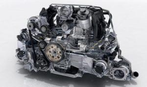 ポルシェ911(新型992)エンジン