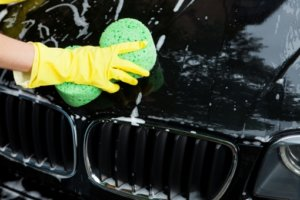 車の花粉対策洗車