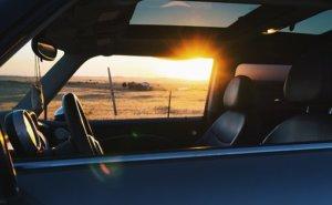 運転席右側(右腕)日焼け