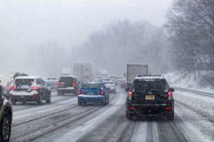 雪道運転注意点
