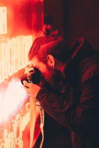 免許写真髪サムライヘア
