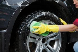 車の正しい洗車方法(やり方)ホイール